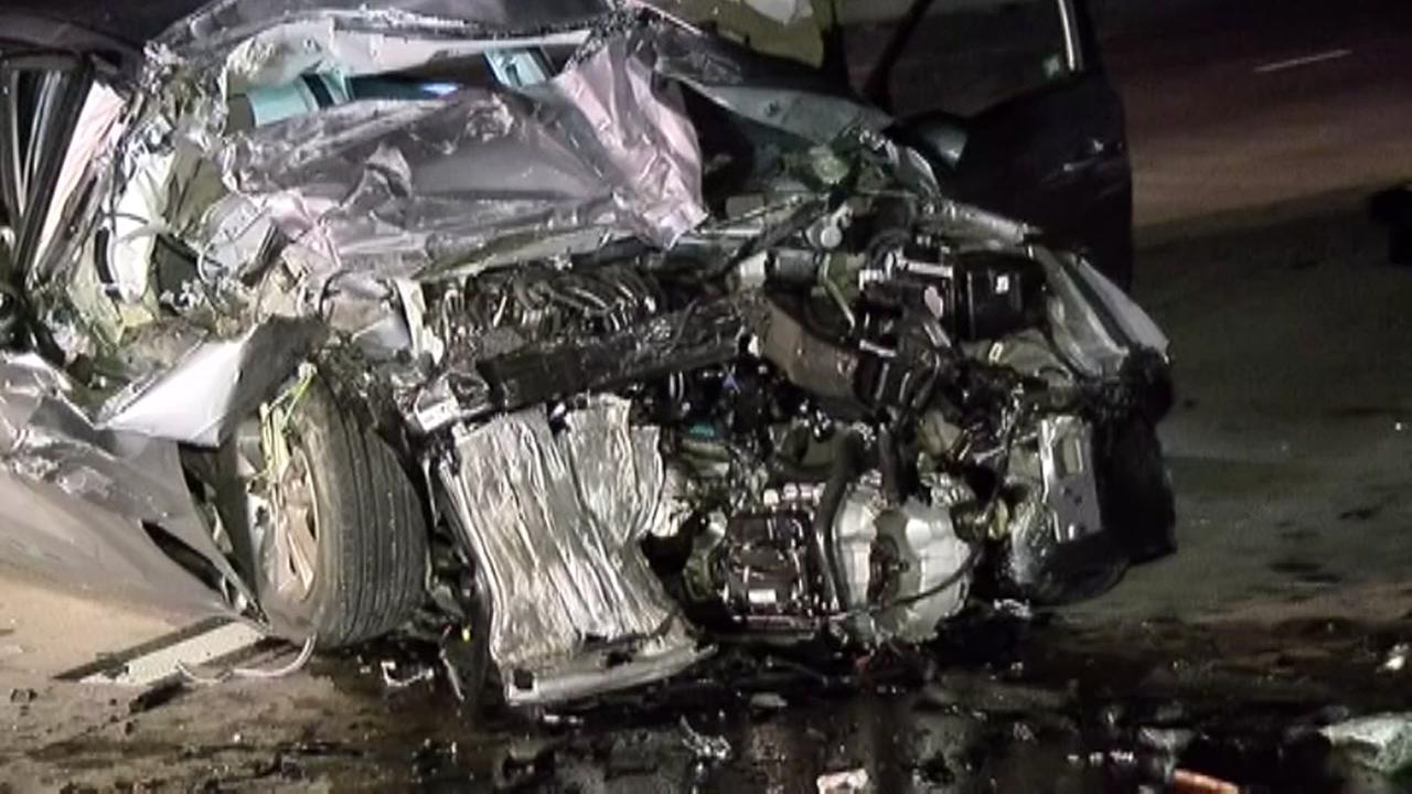 Driver killed after car slams into stalled 18-wheeler