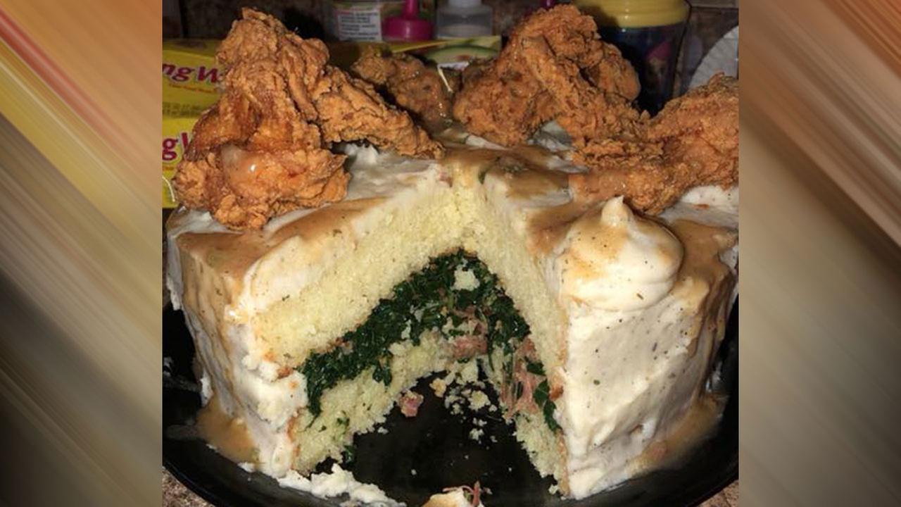 Comfort food cake