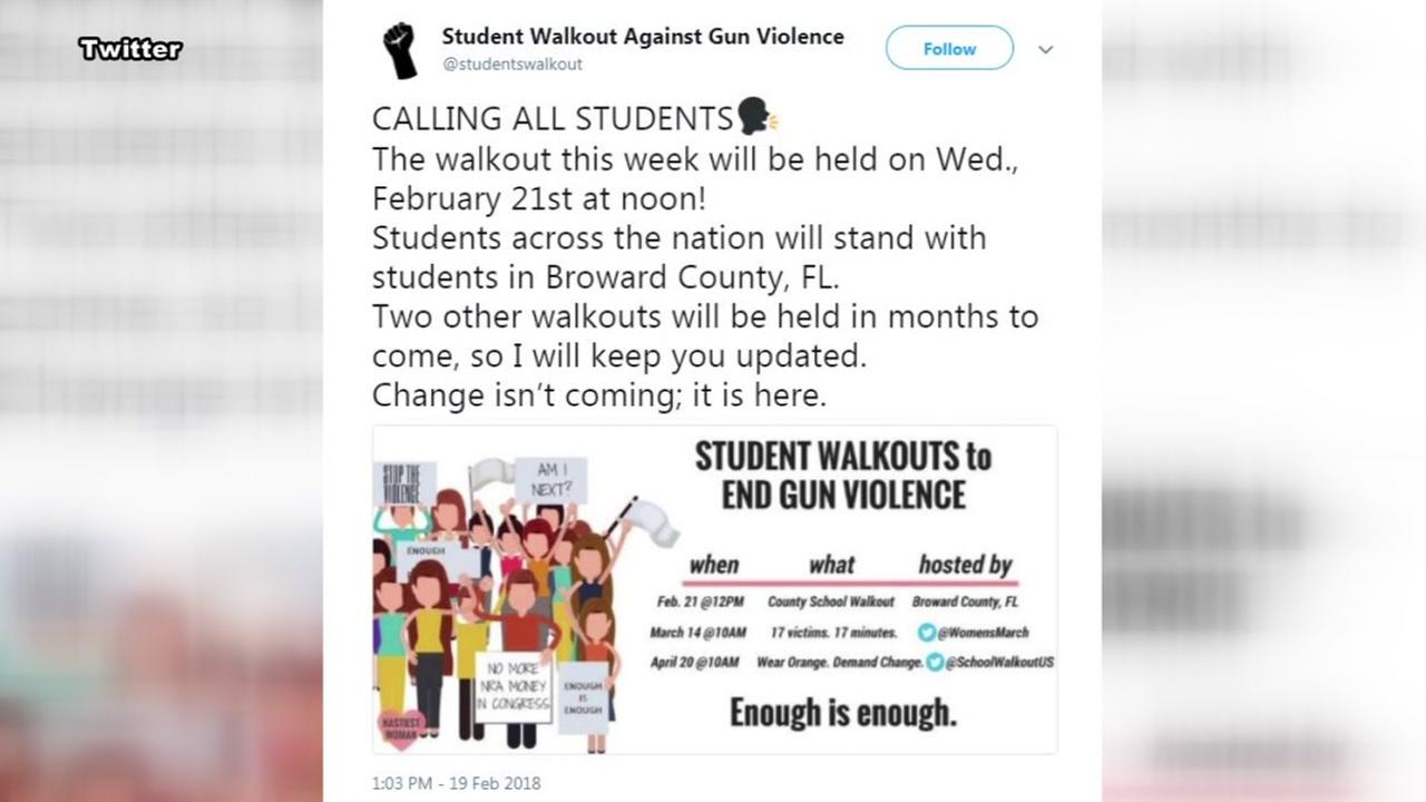 Needville ISD on student walk outs