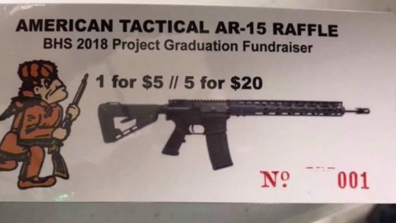 AR-15 raffle