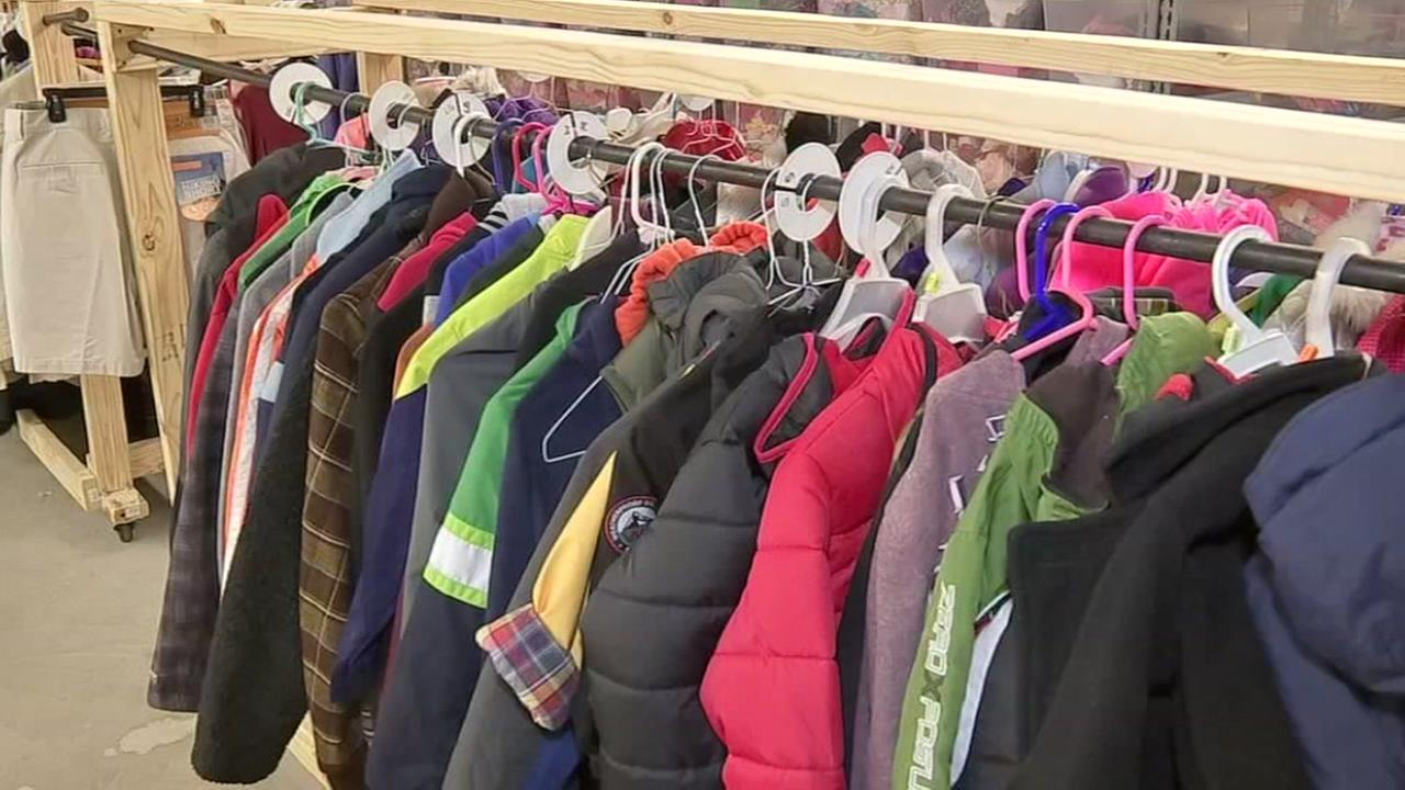 Woman opens care closet to help foster families