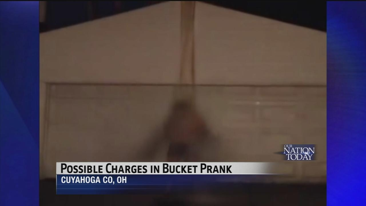 Charges possible in ice bucket challenge prank
