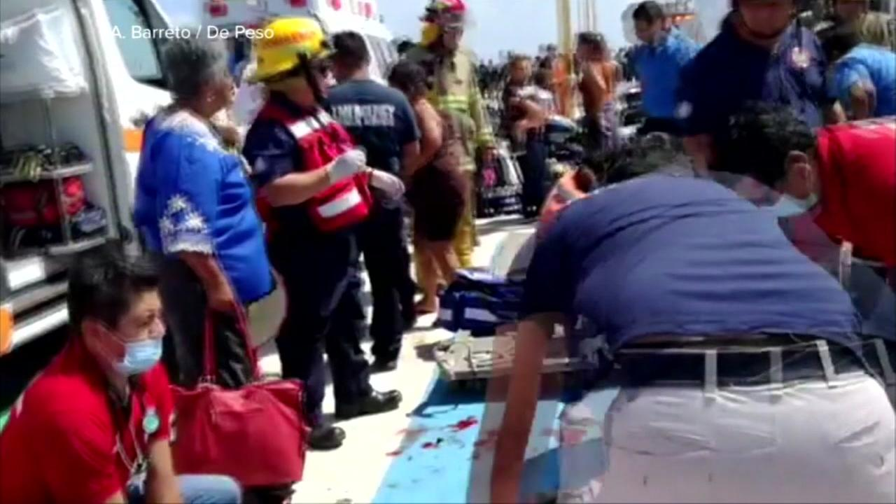 Former Cypress resident witness Ferry explosion in Mexico