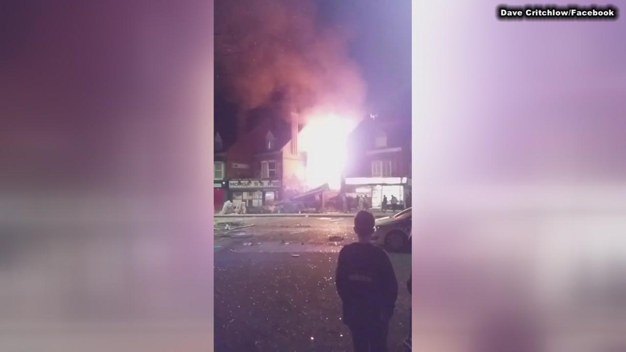 Officials investigating reported explosion in the English city of Leicester