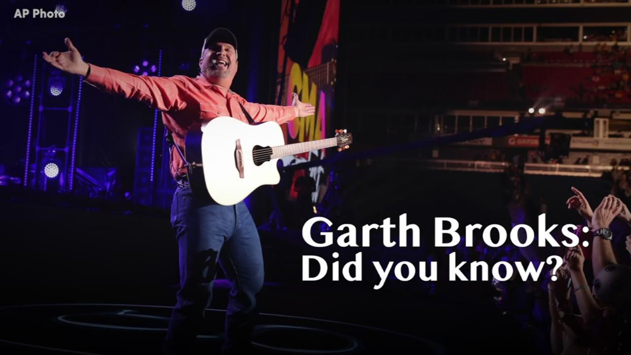 Things you may not have known about Garth Brooks