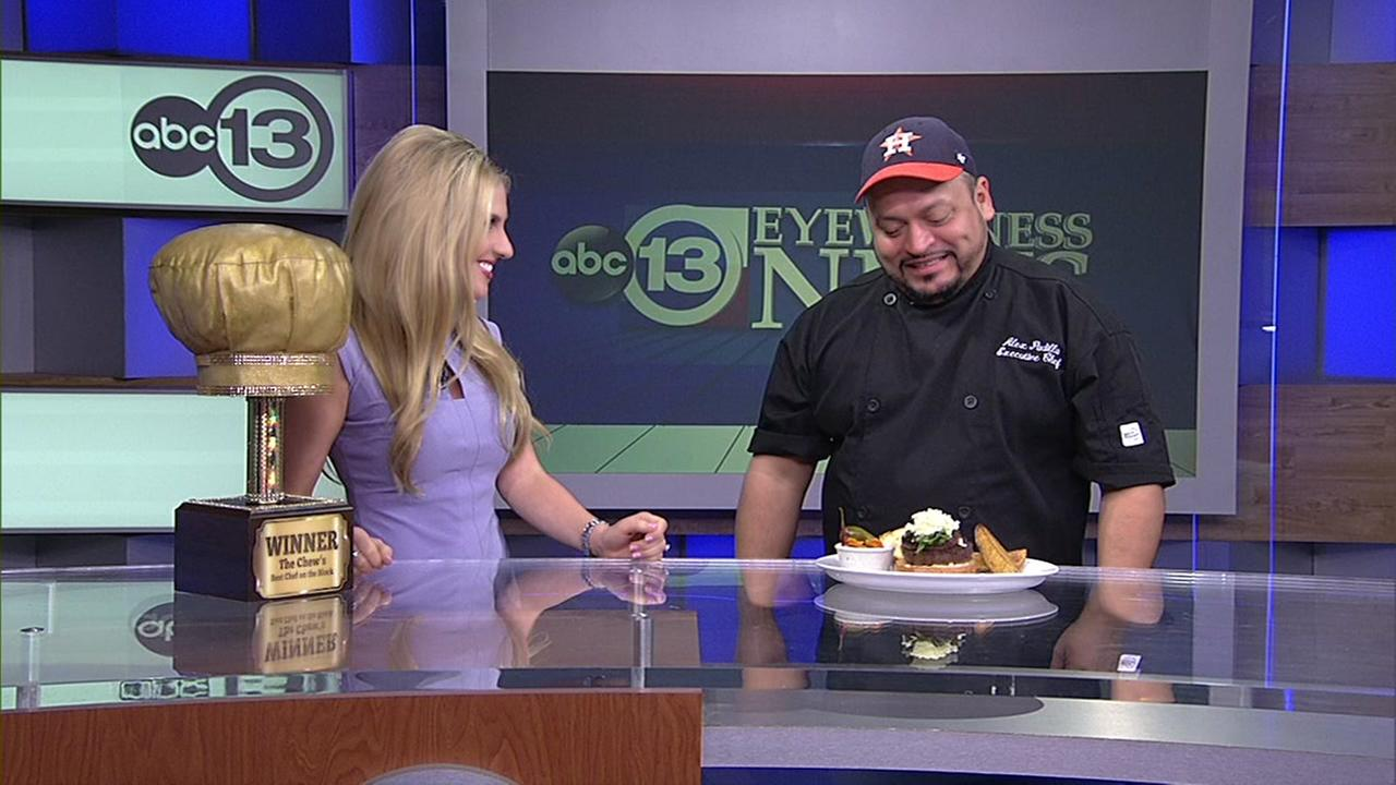 Best Chef on the Block Alex Padilla shares his fajita burger recipe