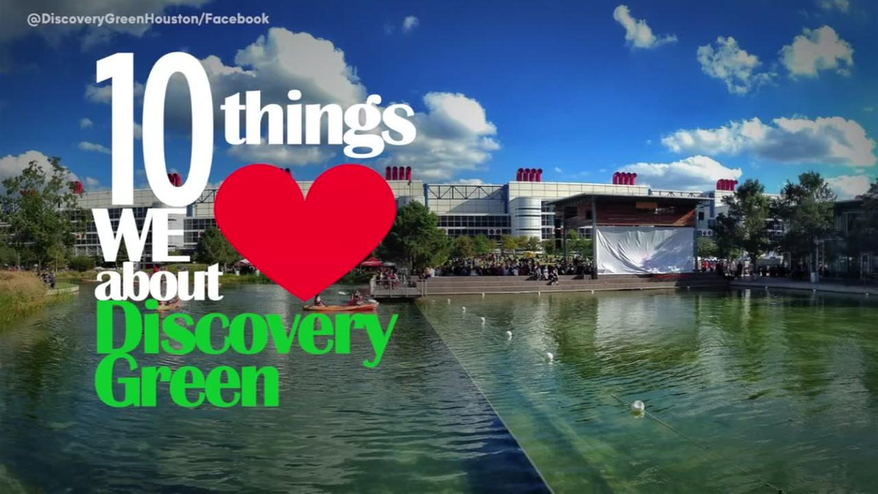 10 things we love about Discovery Green