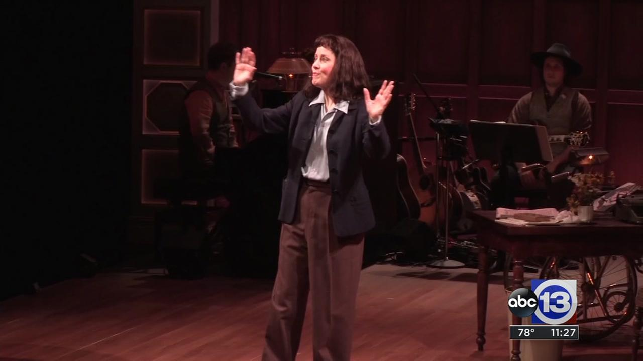 Suzanne Vega stars in show about the life of Carson McCullers, at the Alley Theatre
