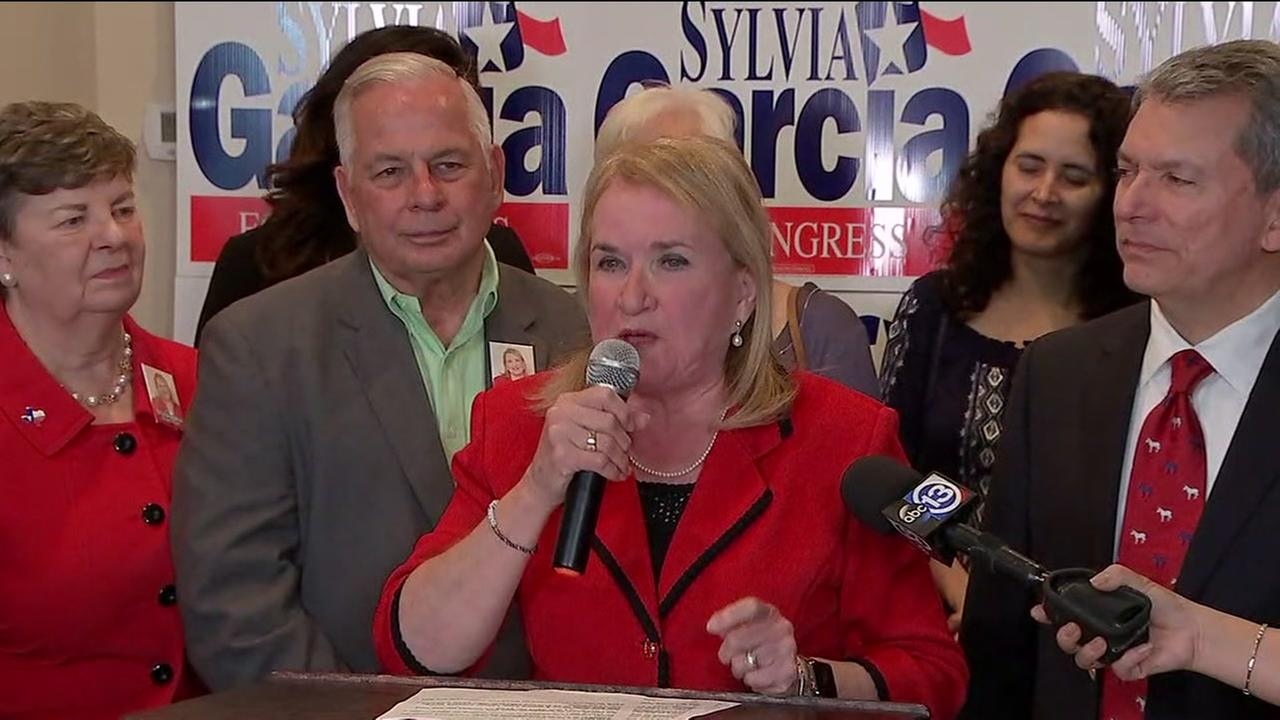 Sylvia Garcia presumptive Democratic nominee for Congress