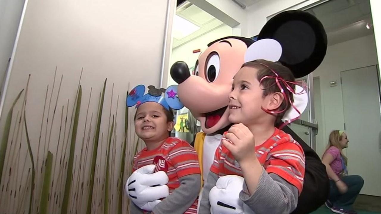 Mickey Mouse at Texas Childrens Hospital