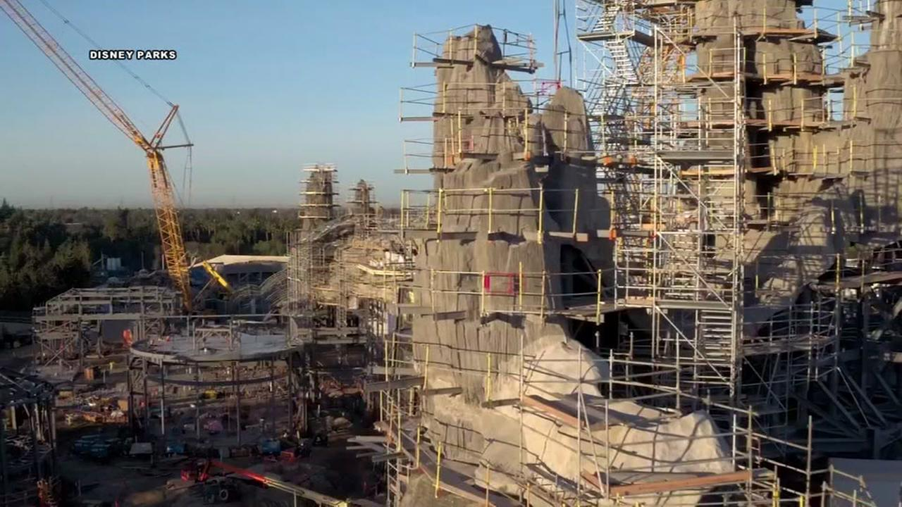 First look at construction of Disneys Star Wars Land