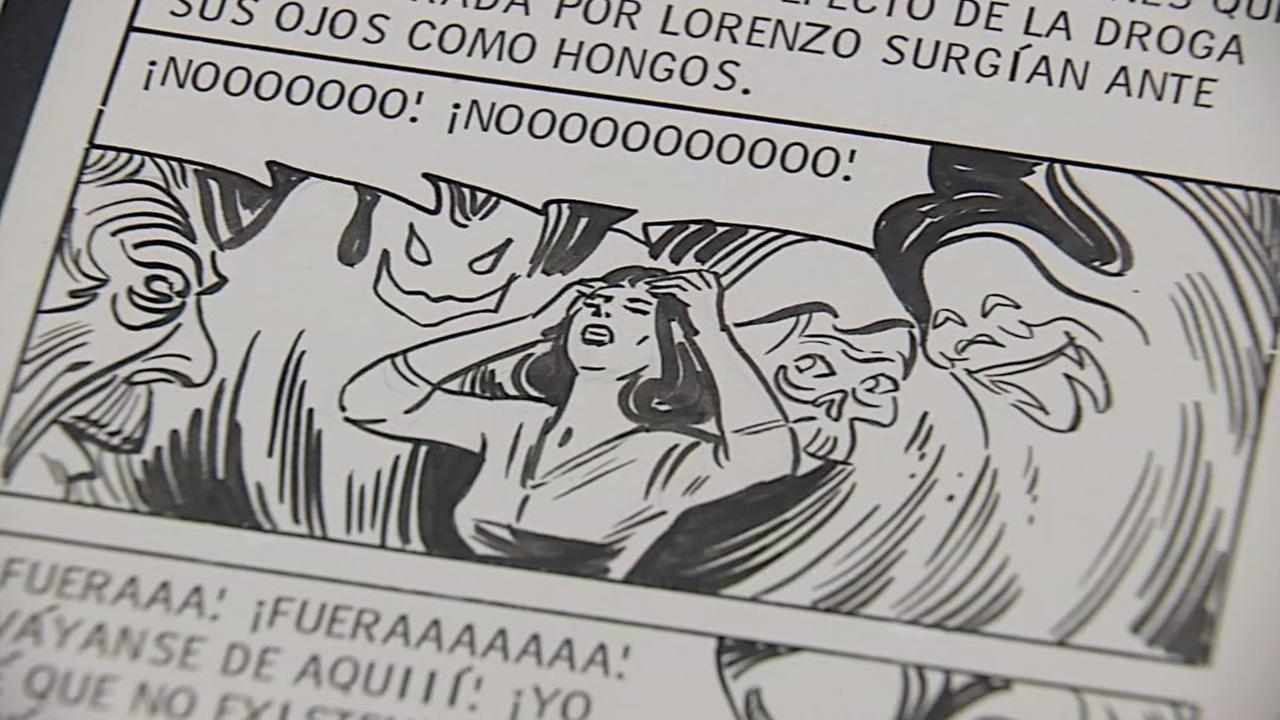 Art Exhibit explores Mexican comic-books