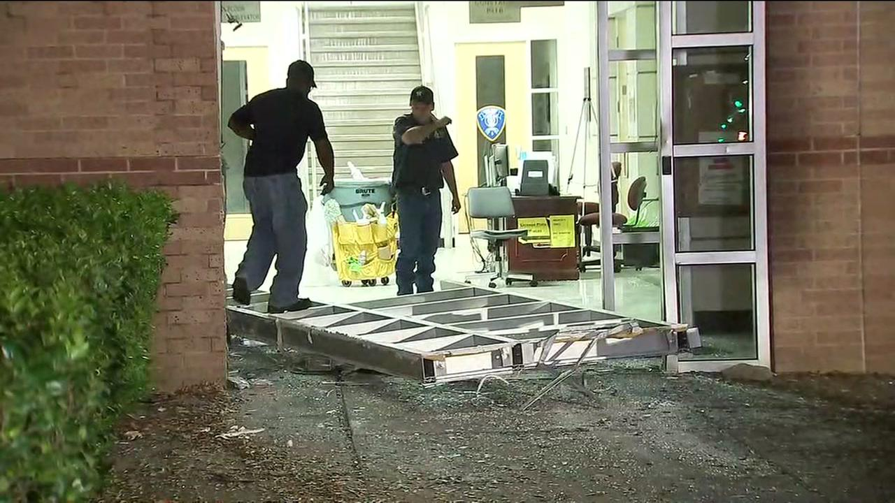 Thieves steal ATM machine from Harris County courthouse