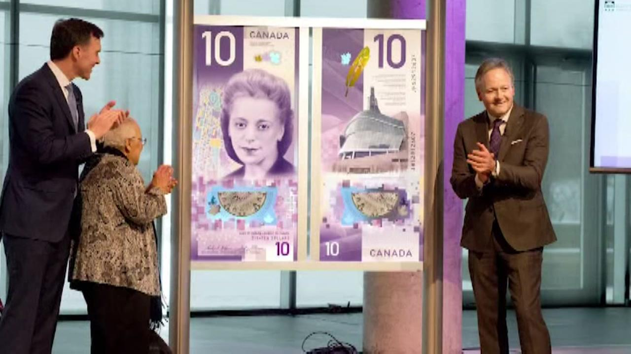 First African-American to appear on Canadian currency
