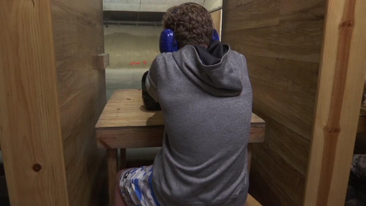 Kids using guns