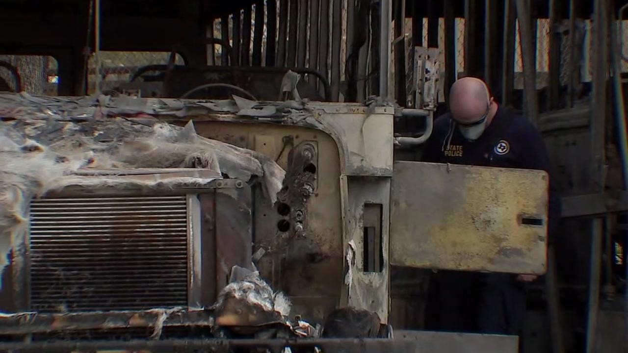Coldsprings bus fire