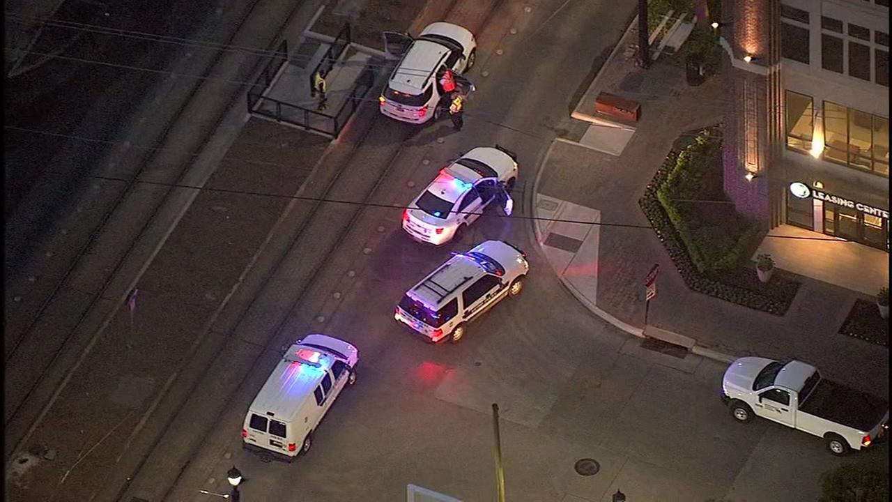 Man has died after being hit by METRORail in Midtown
