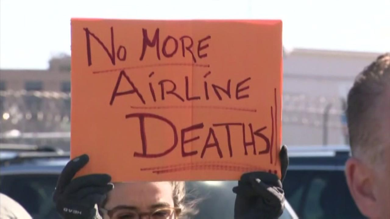 Dog-in protest at LGA after dog dies on United flight
