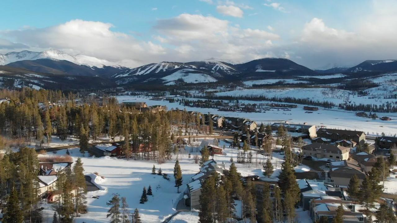 Drone video captures breathtaking view in Colorado