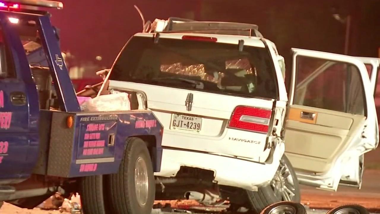Truck driver injured in crash