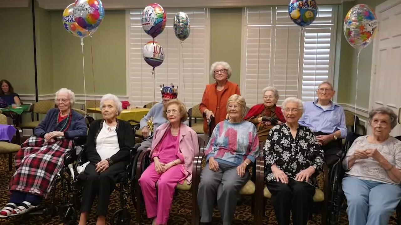 11 retirement home residents turn 100