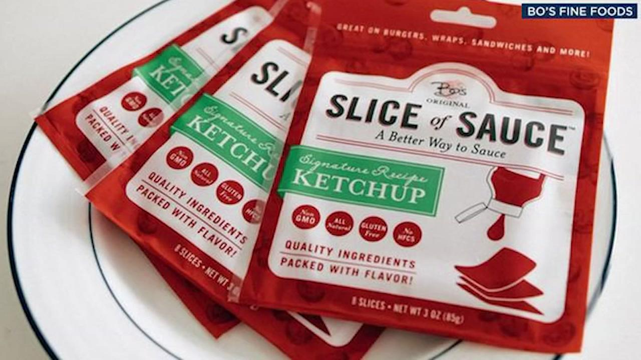 Company hopes slices of ketchup are a hit