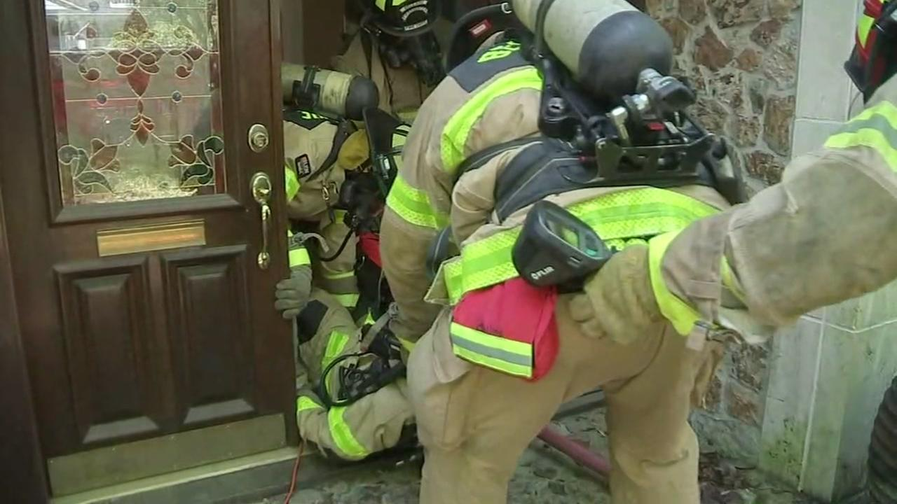 Bellaire home used for fire training