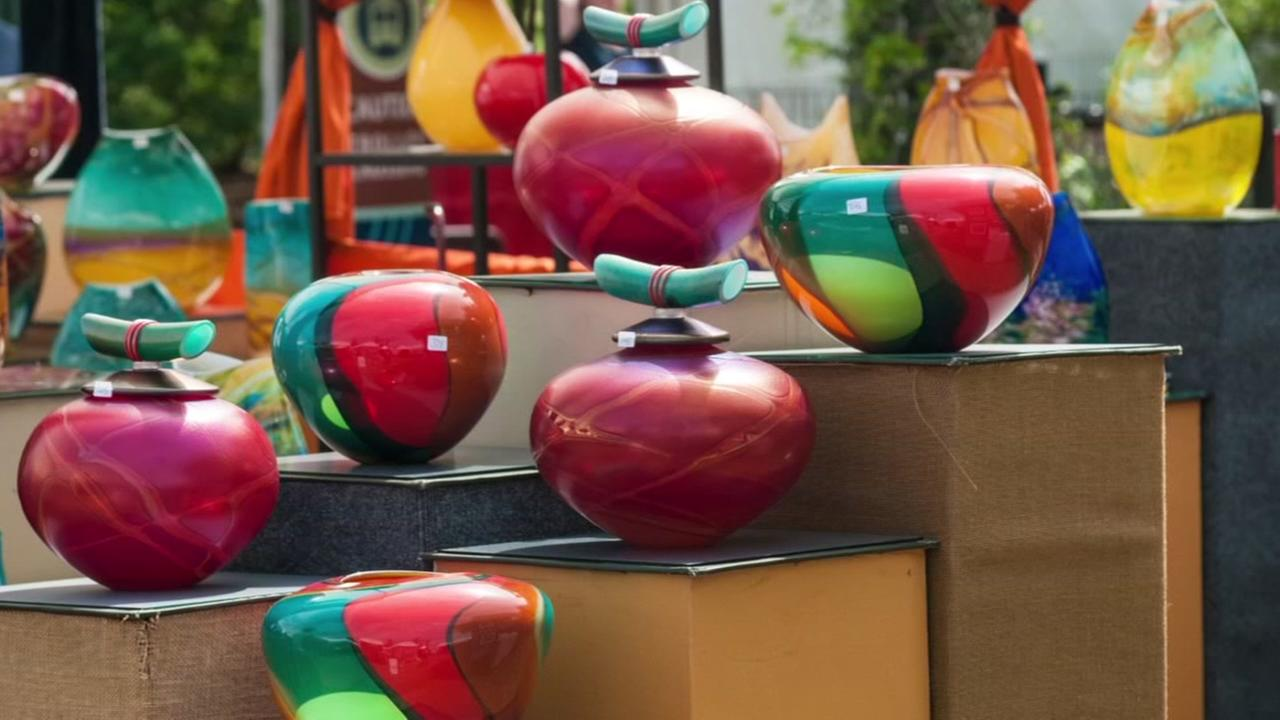 Local artists featured at The Woodlands Waterway Arts Festival
