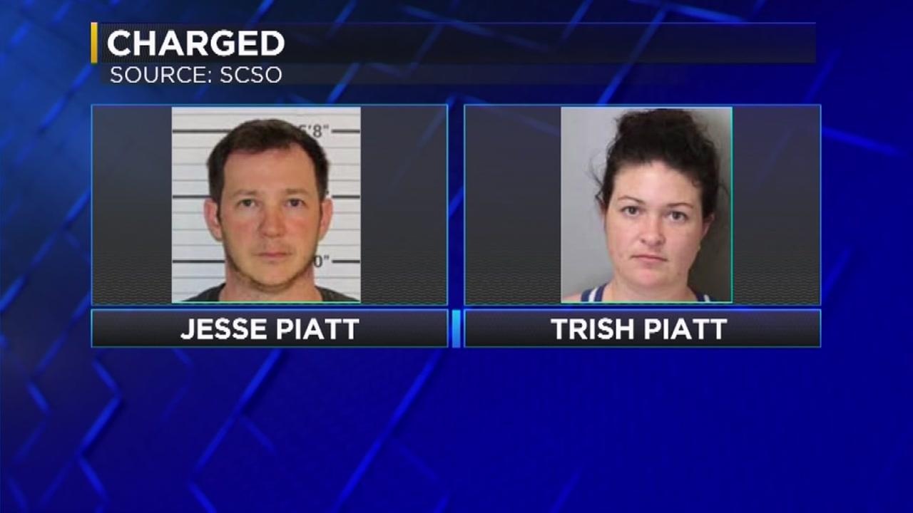 Couple forced child to drink toilet water, police say
