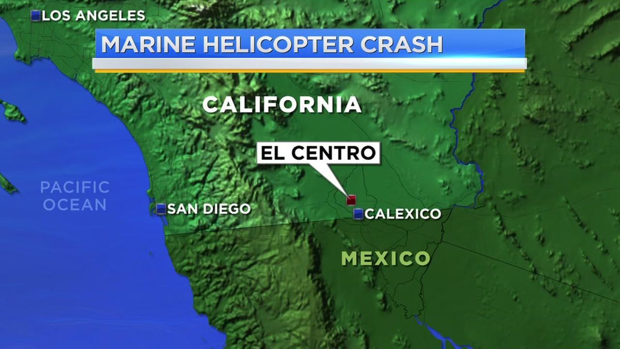 4 presumed dead in California Marine helicopter crash
