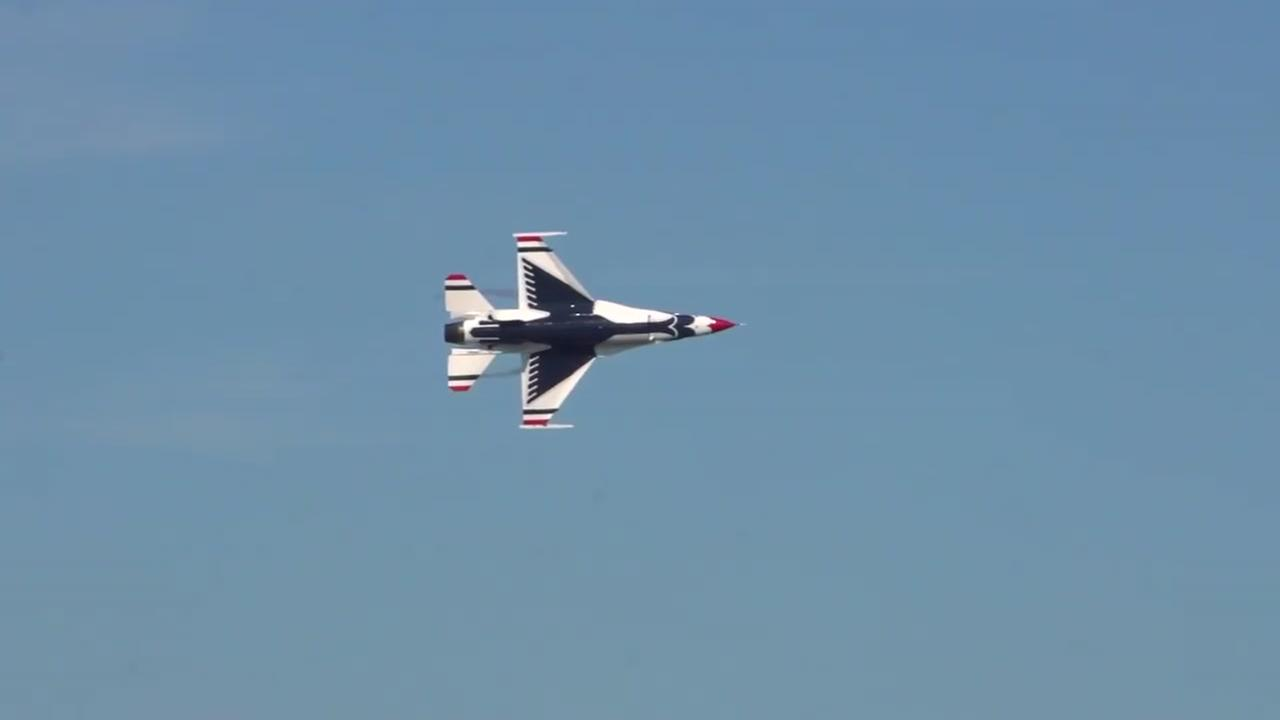 Thunderbirds pilot killed when F-16 crashes during training flight in Nevada, Air Force says
