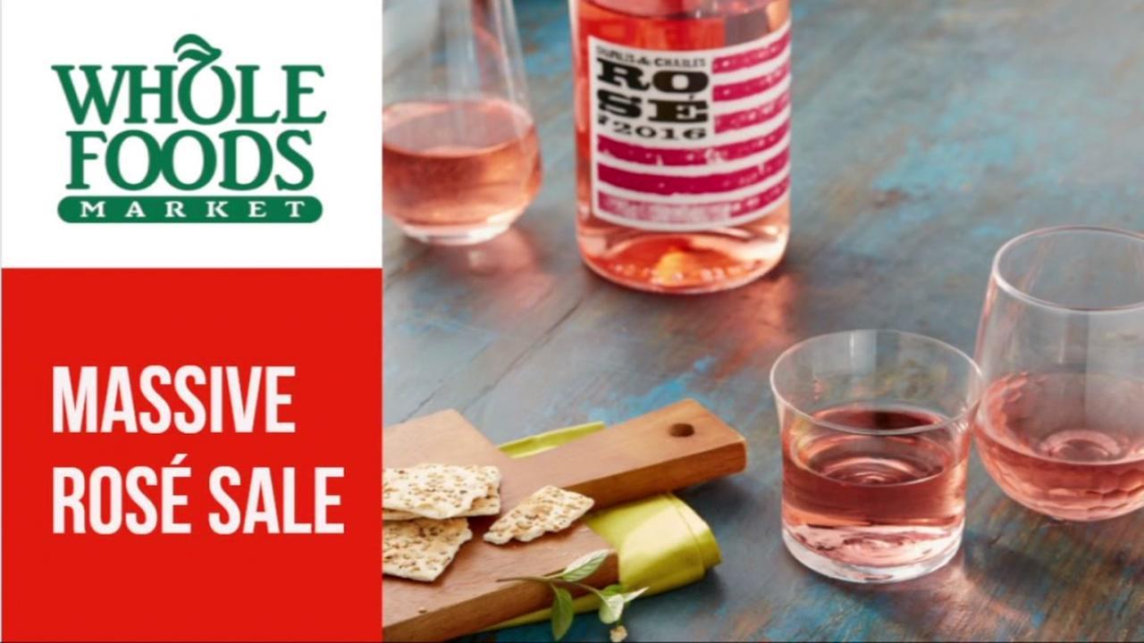 Whole Foods offering huge rose wine sale