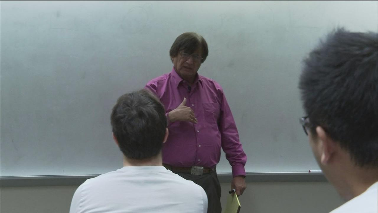 Rice professor teaches more than just math
