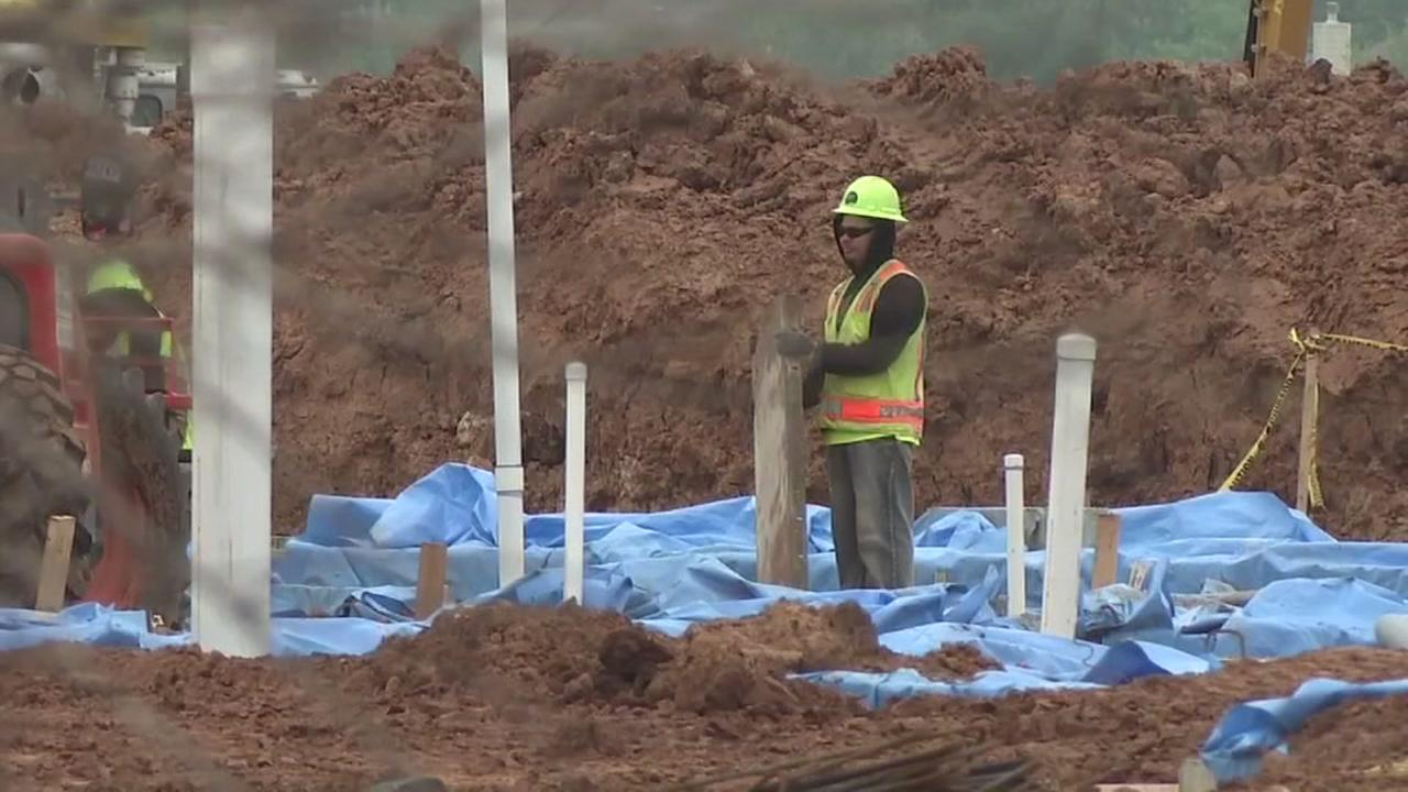 Buried bodies discovered on Fort Bend ISD construction site