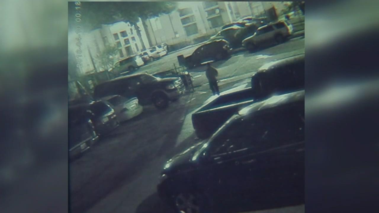 Mom shot, bullets barely miss kids inside apartment
