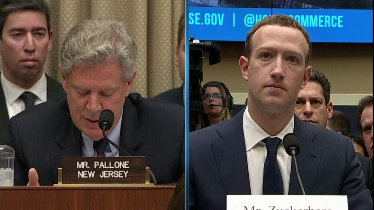 Facebook CEO Mark Zuckerberg testifies