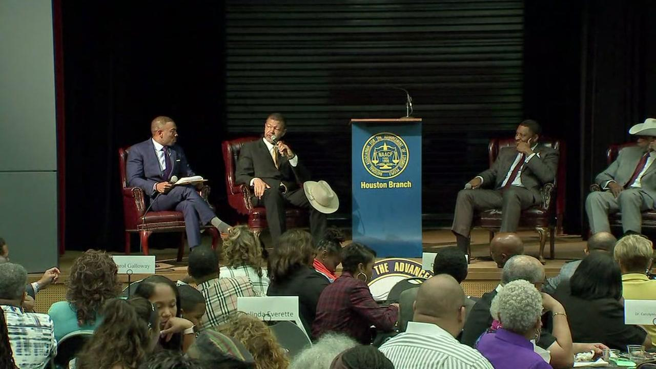 NAACP holds town hall in Houston