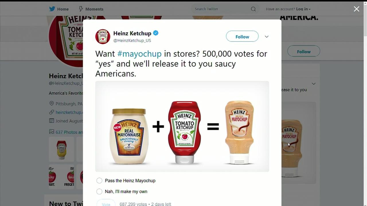 Heinz releases new mayochup just in time for Summer