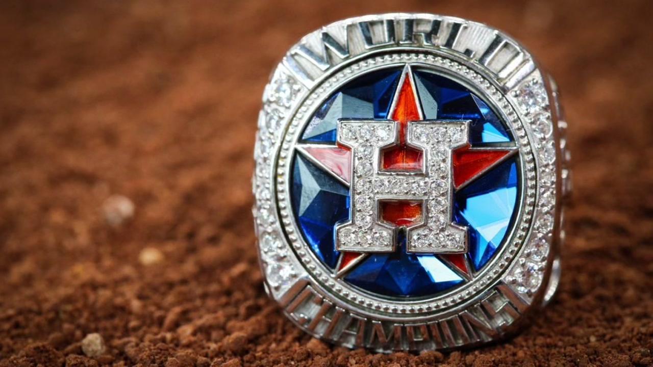 Houston Astros unveil new Elite Fan Ring