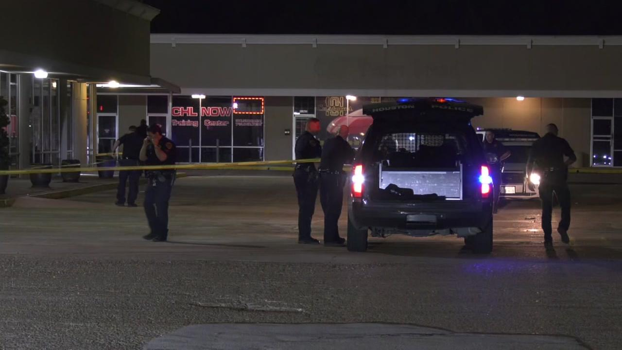 Security guard shoots 3 suspect, police say