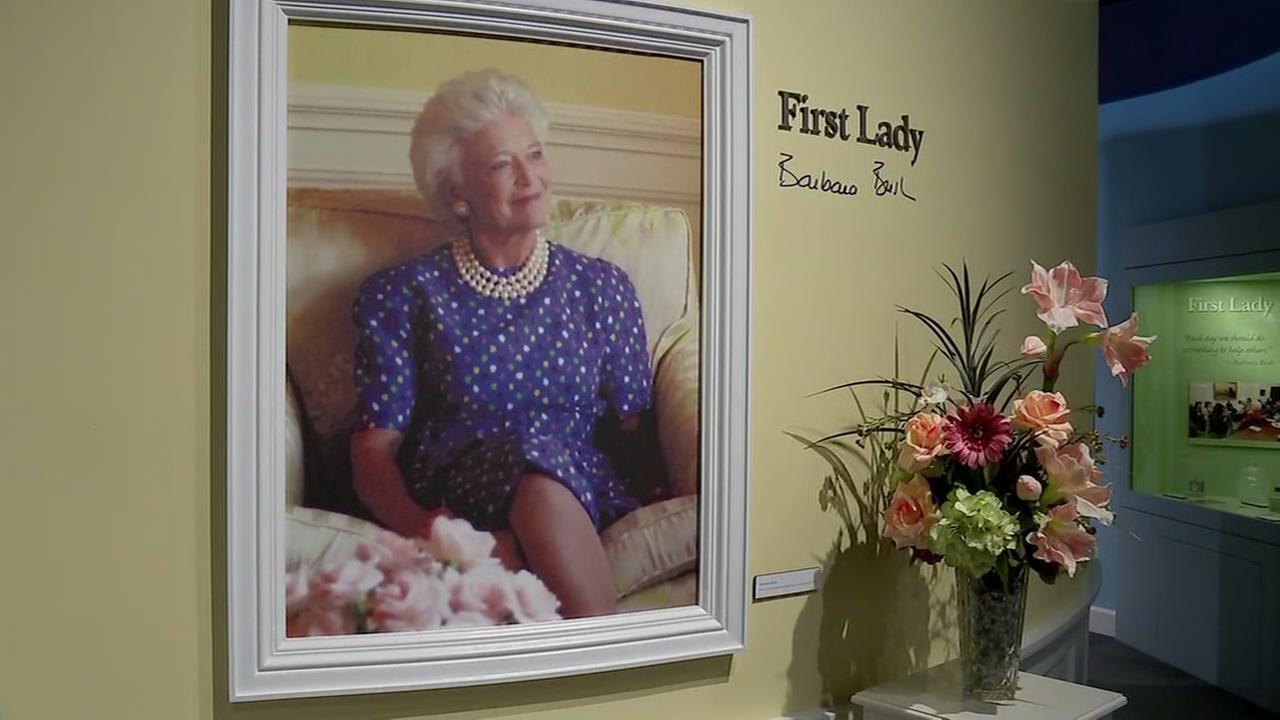 George Bush Presidential Library transformed to honor Barbara Bush
