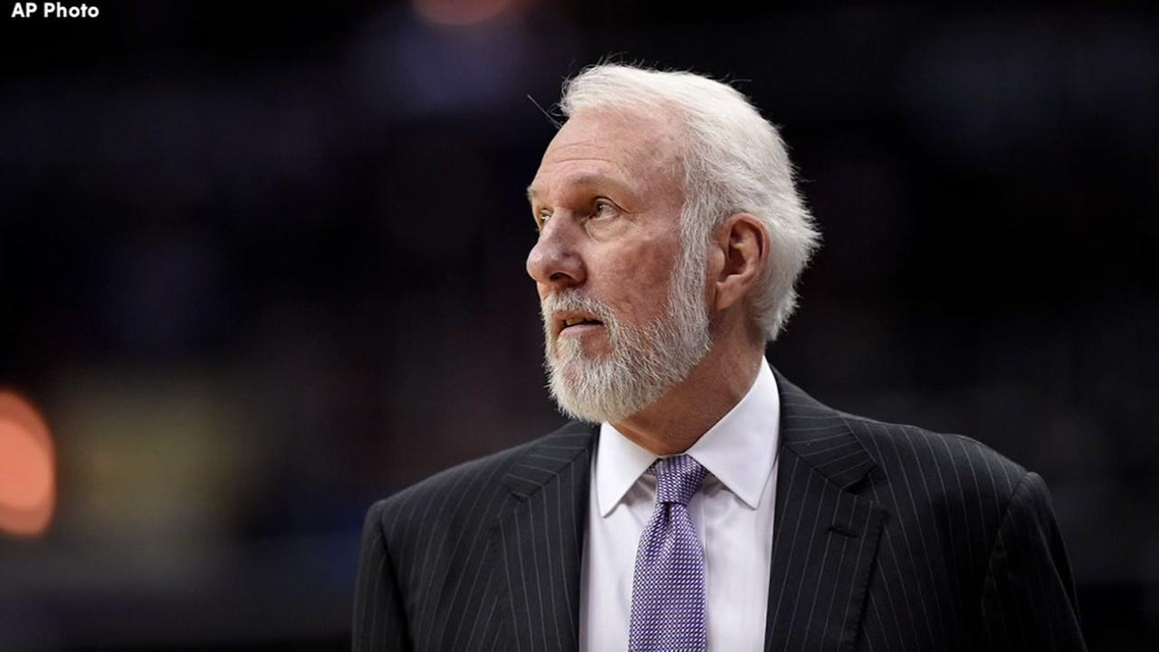 Wife of Spurs coach Gregg Popovich dies