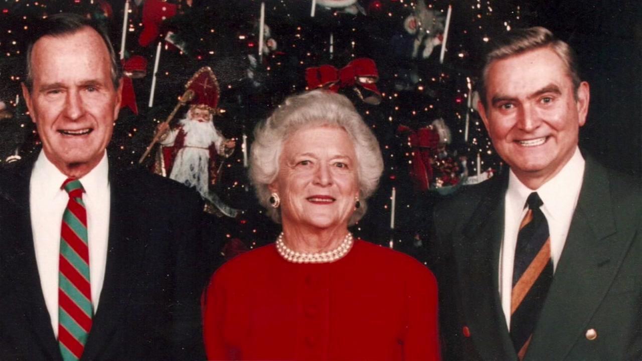 ABC13 anchor emeritus Dave Ward recalls his times with Barbara Bush