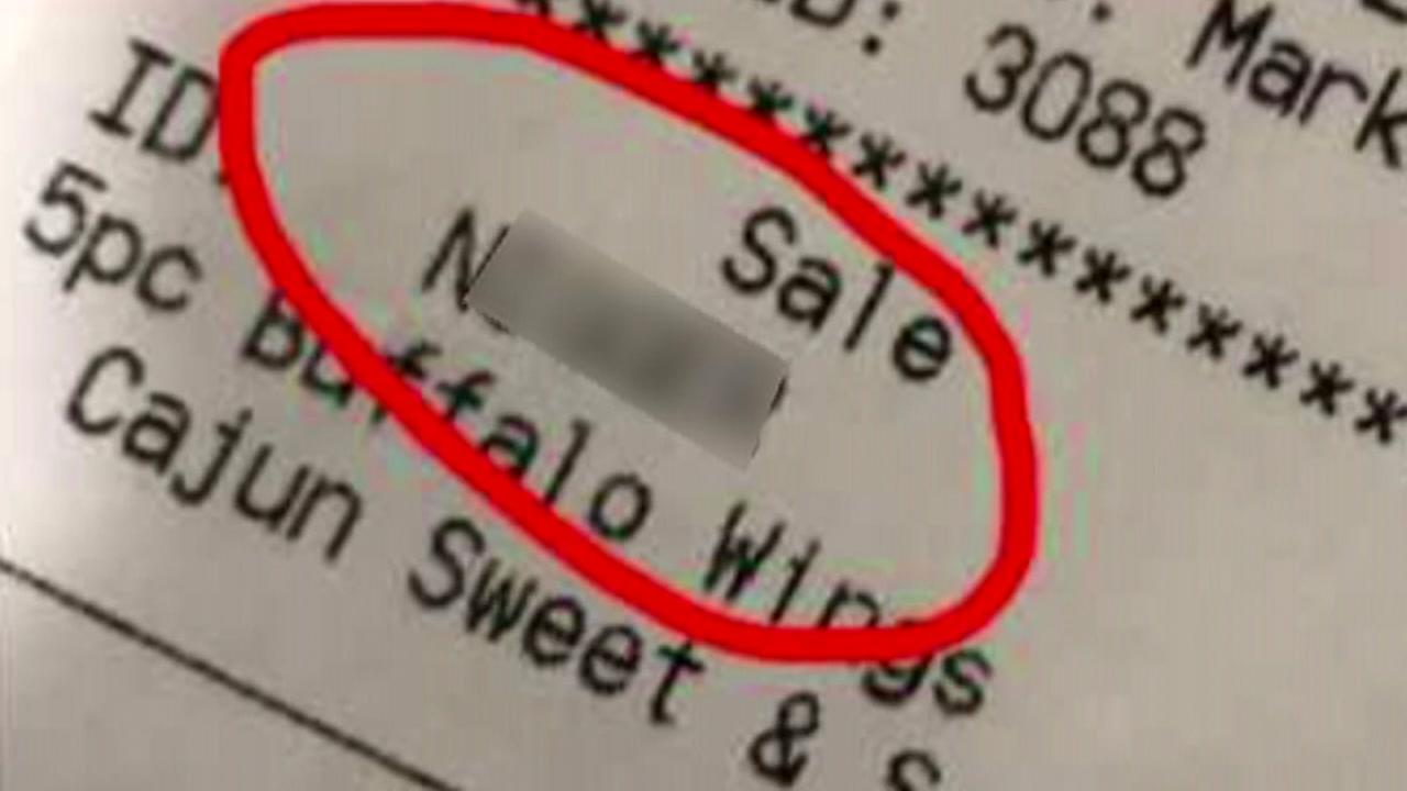 Racial slur on receipt costs student a job