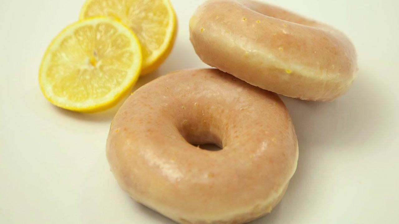 Krispy Kremes new Lemon Glaze Doughnut to debut for 1 week only