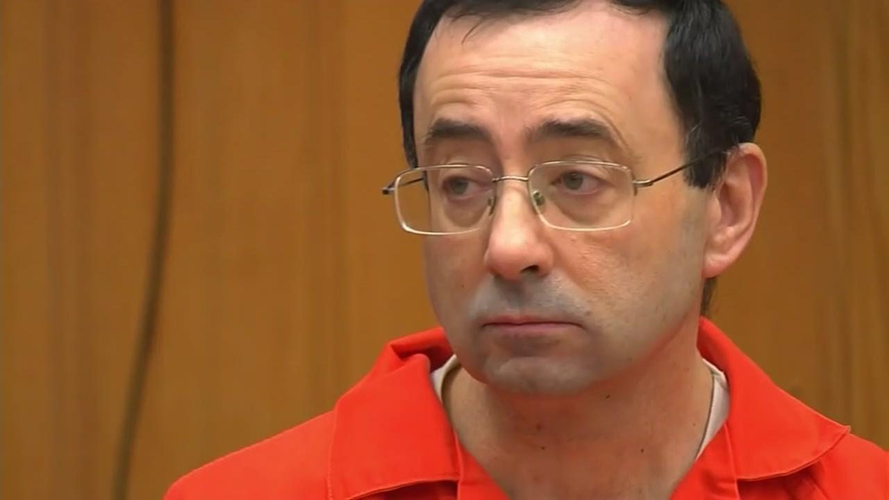 Lawsuit filed in case against Dr. Larry Nassar