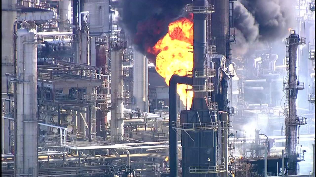 Explosion reported at Valero plant in Texas City