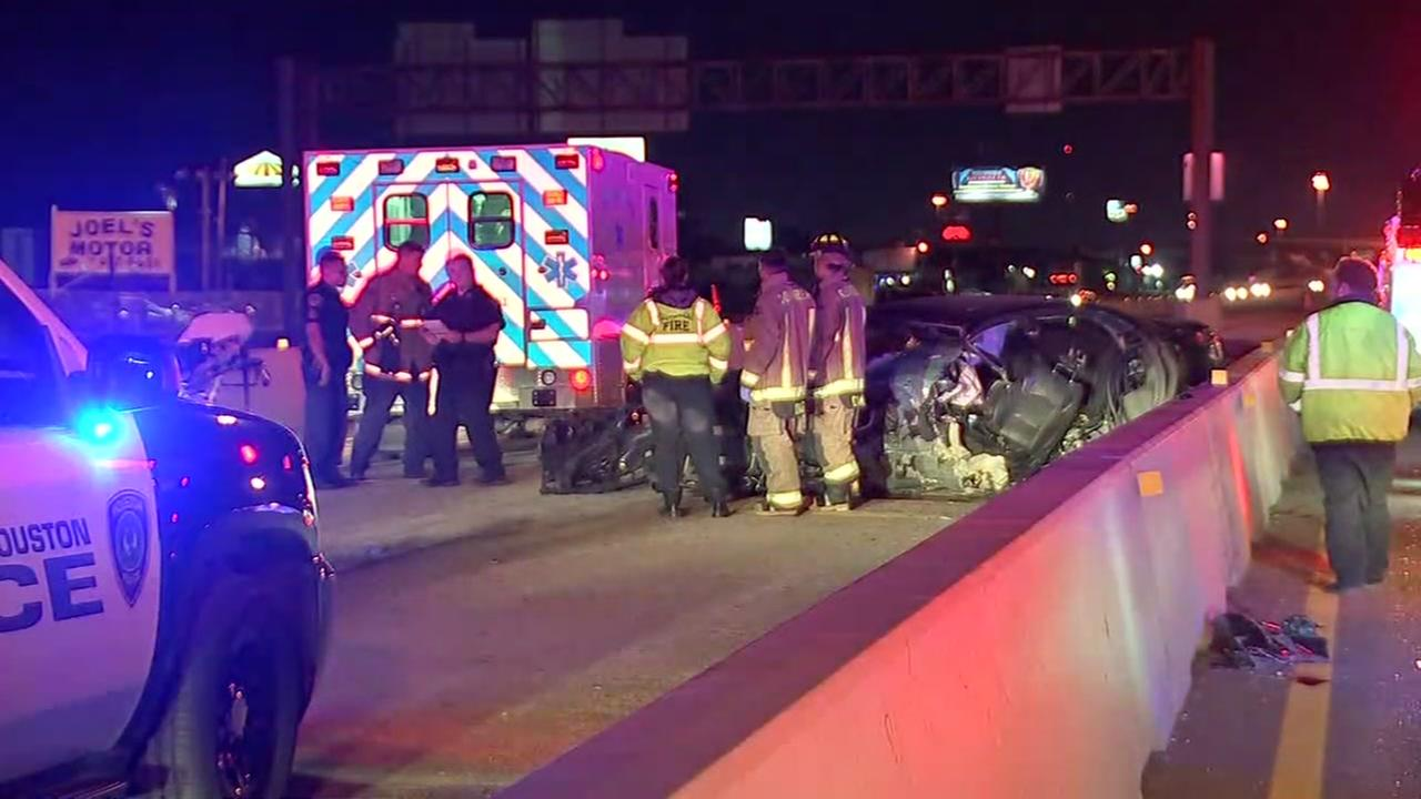Wrong-way driver on East Freeway