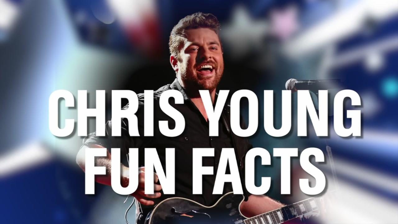 Fun facts about country star Chris Young