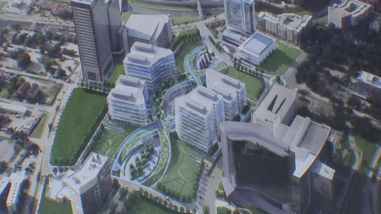 The Medical Center 3, is expected to create 30,000 new jobs